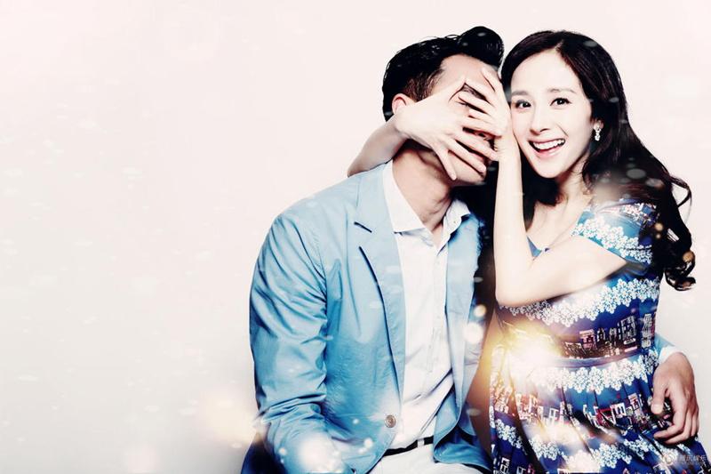 腾讯访谈杨幂刘恺威_杨幂刘恺威公布怀孕喜讯 新婚夫妻分享爱的甜蜜--时尚--人民网