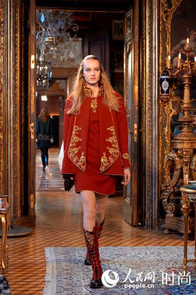 T台秀场-梦回奥地利 Chanel发布2014 15高级手工坊系列图片