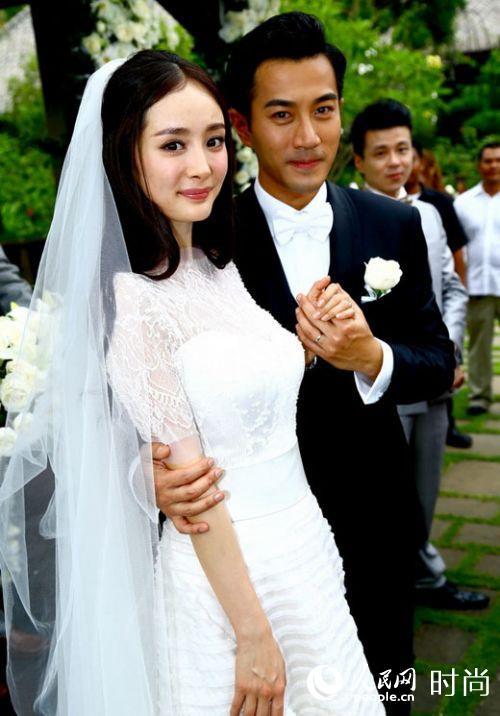 杨幂的婚纱照图片_明星婚礼 杨幂婚纱照