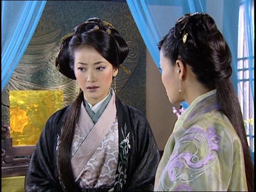 陈紫函电视剧《剧中造型》大汉天子岳秀清主演的电视剧图片