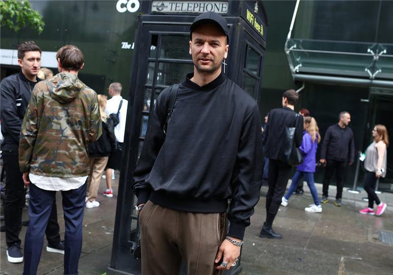 这边风景独好 伦敦男装周型男时髦街拍盘点图片