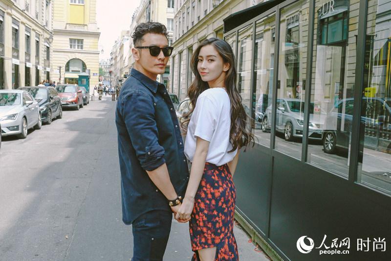 黄晓明baby夫妇看秀轰动巴黎时尚圈  引外国粉丝尖叫【3】