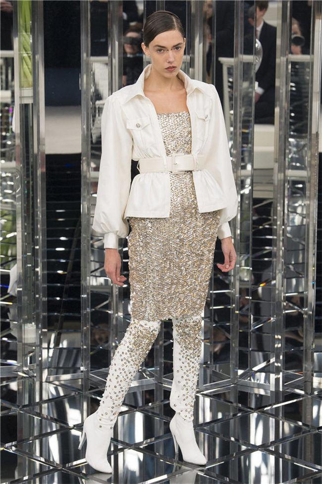 2017春夏高定时装周 香奈儿 Chanel 高定时装秀