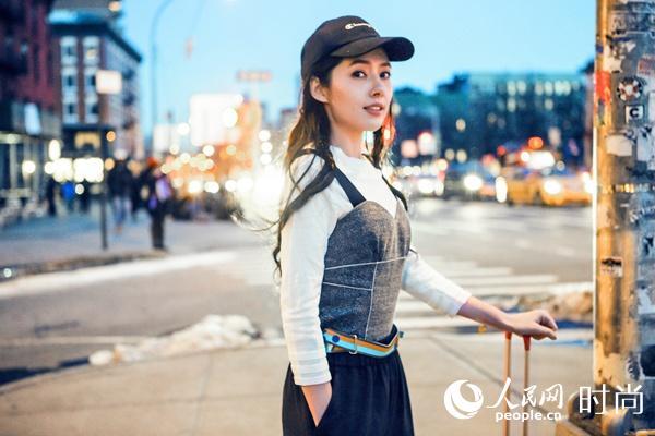 郭碧婷穿它现身纽约时装周 IDPAN告诉你什么才是真正的国际范儿