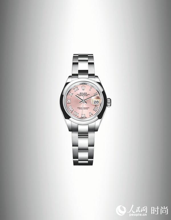 劳力士推出经典蚝式恒动女装日志型28腕表