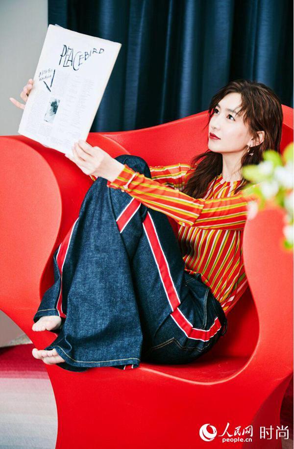 《时尚家居》六月刊江疏影封面滚烫出炉 幕后花絮大片气质爆表