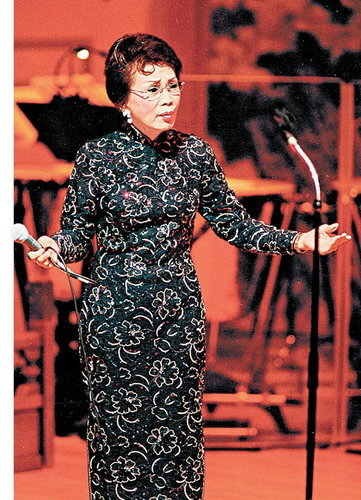霍英东二太太冯坚妮曝光率最高